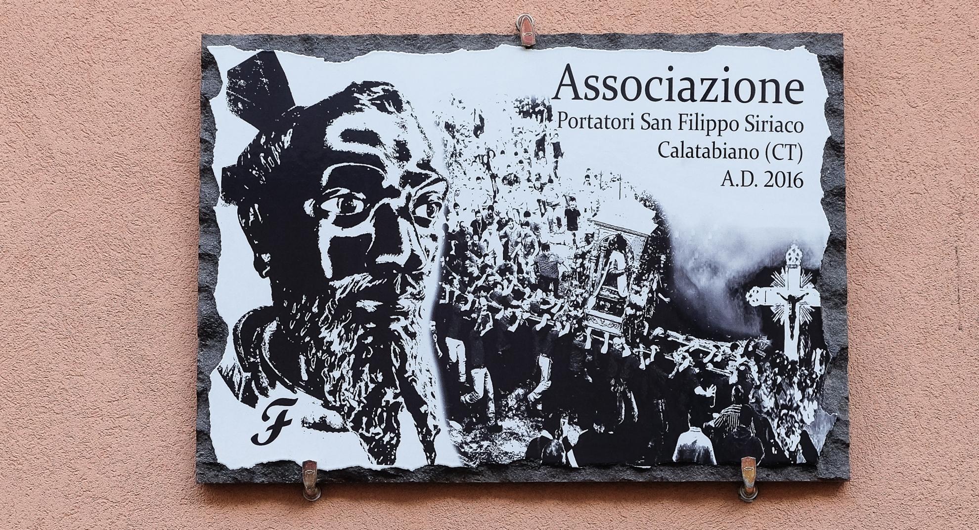 Associazione portatori San Filippo Siriaco - , Calatabiano